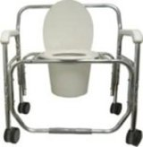 Bariatric Transport Shower Chairs - Aluminum