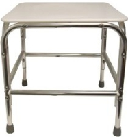 Model 1700XF Bariatric Shower Stool with Flat seat/without Back