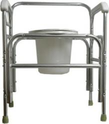 Model 724t Bariatric Bedside Commode Extra Tall