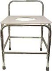 Model 1700XDB Shower Stool with Opening/with Back