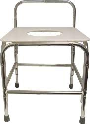 Model 1700XDB-500 Shower Stool with Opening/with Back