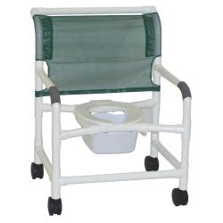 Model 126-4-NB Bariatric Shower Chair with Pail