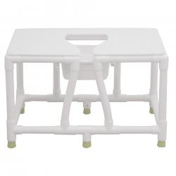 Model 156-FSS-36 Bariatric Commode - No Back