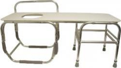 Model 1730 Series Bariatric Tub Transfer Bench with Opening