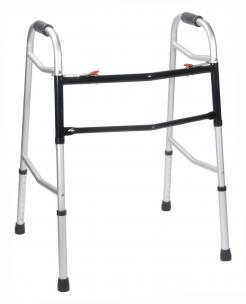 Model 10220HD Bariatric Folding Walker - Twin Pack