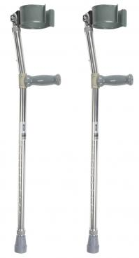Model DR10403HD Bariatric Forearm Crutches - Pr.