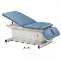 Model 84438 Extra Wide, Shrouded Bariatric, Power Table with Adjustable Backrest and Drop Section
