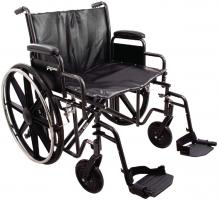 Model PB-WC72620DS Bariatric Wheelchair - Capacity 500 lbs.