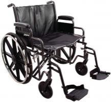Model PB-WC72620DS Bariatric Wheelchair - Capacity 600 lbs.