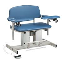 Model CLT-6361 Power, Bariatric, Blood Drawing Chair with Padded Arms