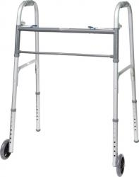 Model 830F-500 Bariatric Folding Walker with Wheels