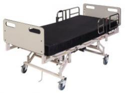 Maxi Rest 42 - Molded Head and Foot Boards Capacity 800 lbs. Shown with optional mattress.