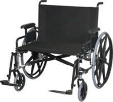Model 928L Bariatric Wheelchair - Capacity 600 lbs.