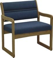 Bariatric Armchair with Sled Base Legs
