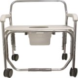 Model 1328XDP Transport Shower Chair with Pail