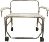 Model 1328XD-DAU Transport Shower Chair with Swing Away Arms